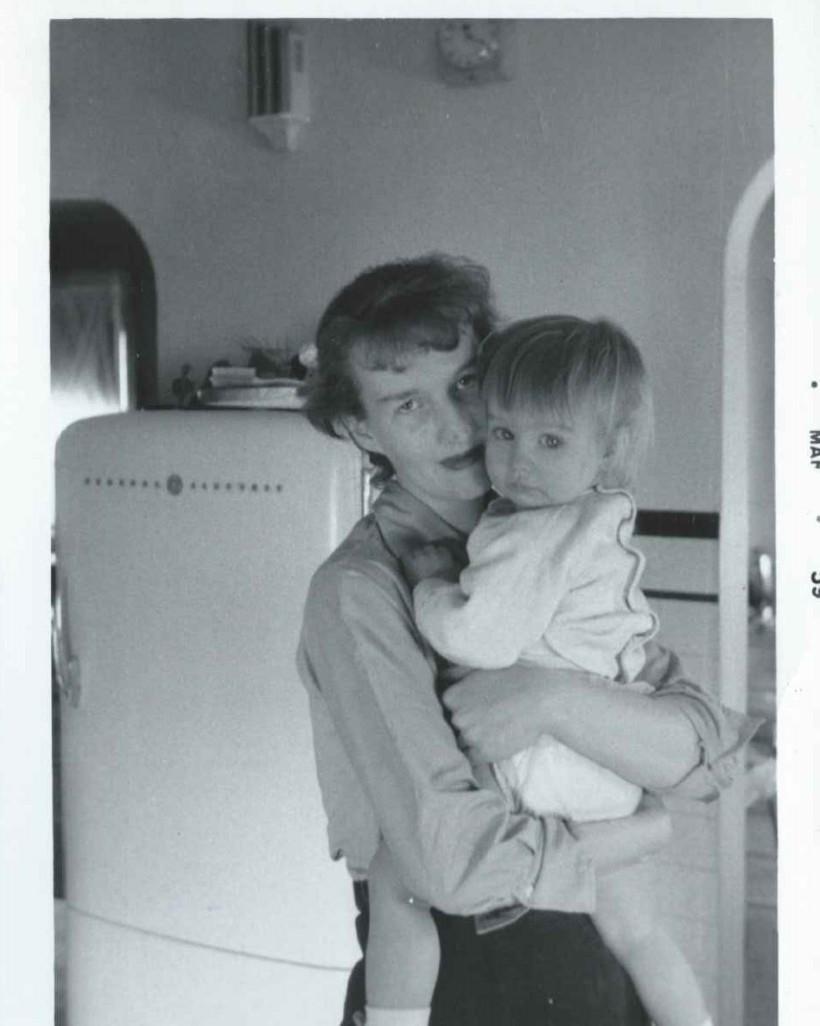 My mom & me 1958